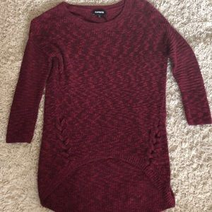 Maroon sweater!